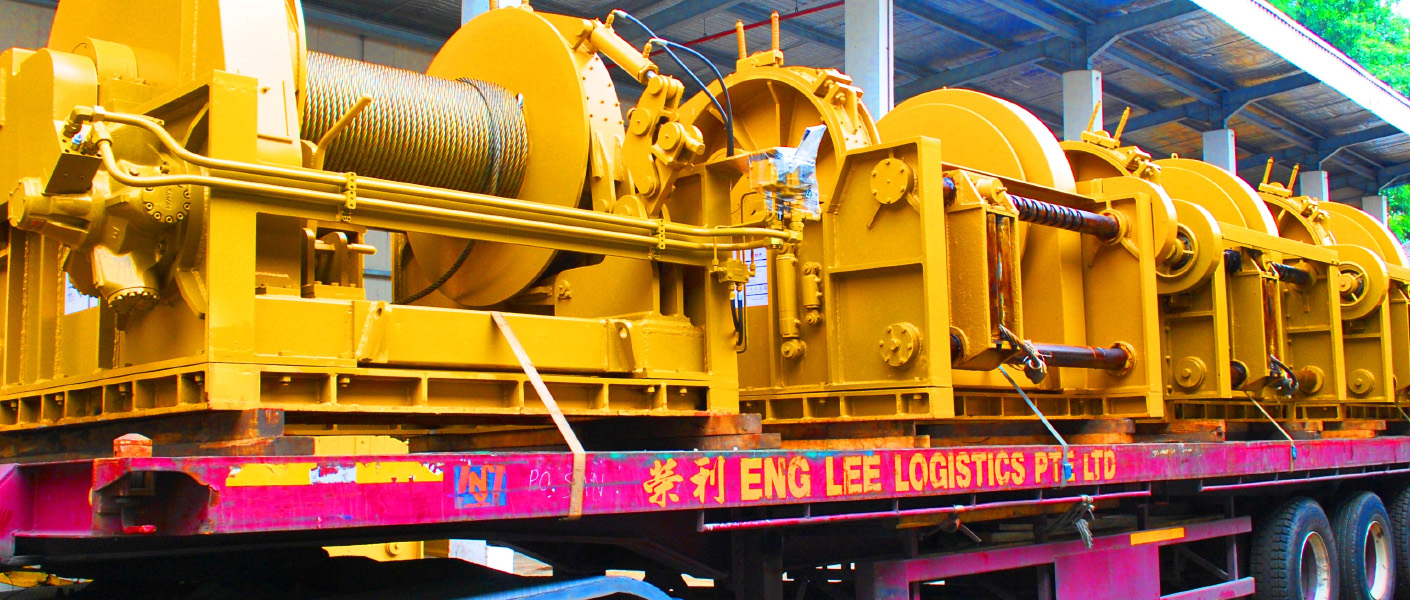 Spooler Winch Coiling Machine Transvictory